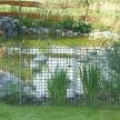 Teichschutzzaun/Rabattenzaun