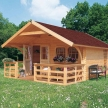 Gartenhaus Komplettsets