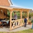 Terrassendach Holz
