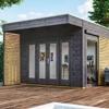 Blockbohlenhäuser 19 mm (optional mit Dämmung)