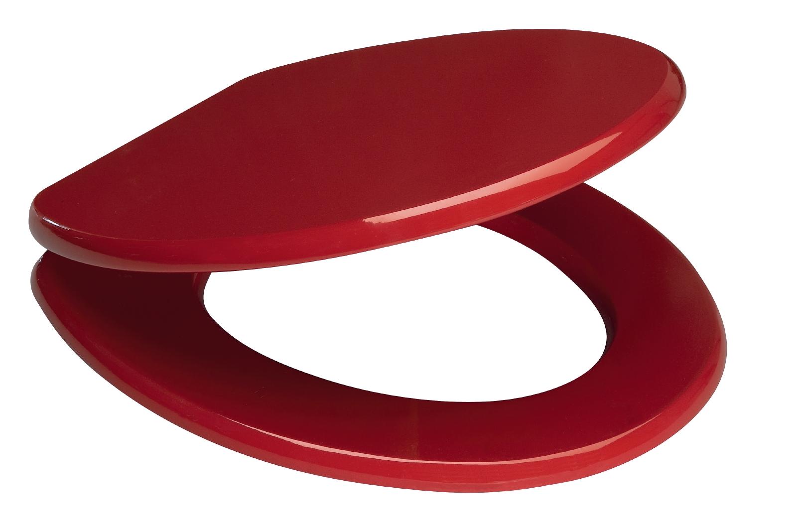 sanitop wingenroth wc sitz venezia rot holzkern ebay. Black Bedroom Furniture Sets. Home Design Ideas