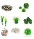 biOrb Aquarium Dekoration - Alles auf Grün - für Serie TUBE