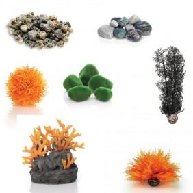 biOrb Aquarium Dekoration - Fresh Orange - für Serie TUBE