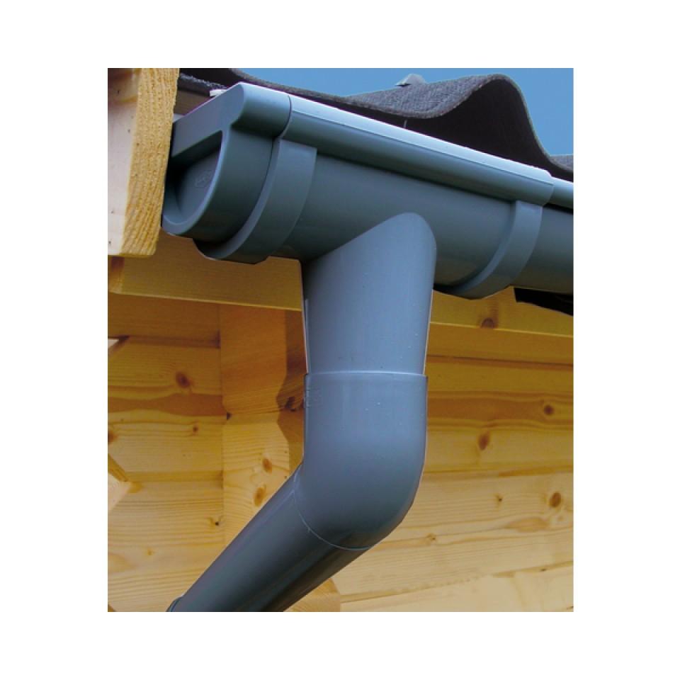 Kunststoff dachrinnenset f r wolff finnhaus gartenhaus - Was kostet eine baugenehmigung fur ein gartenhaus ...