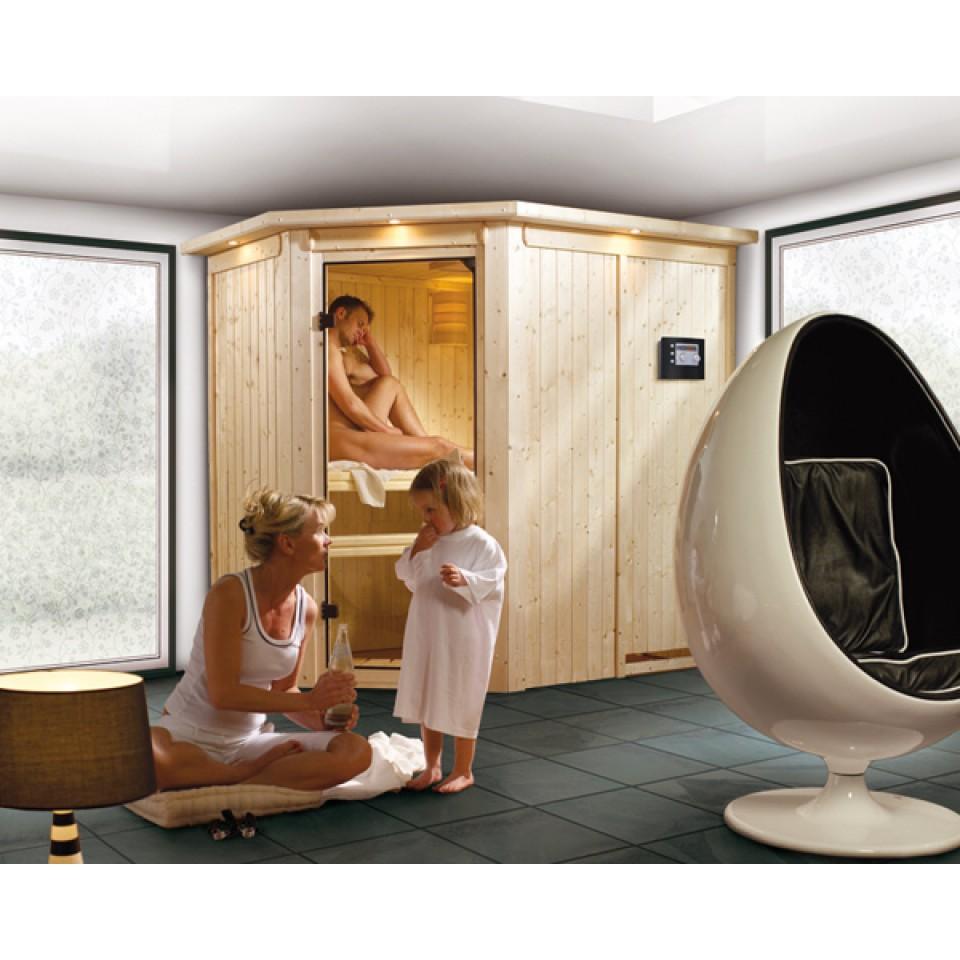karibu sauna saja 230 volt mein. Black Bedroom Furniture Sets. Home Design Ideas