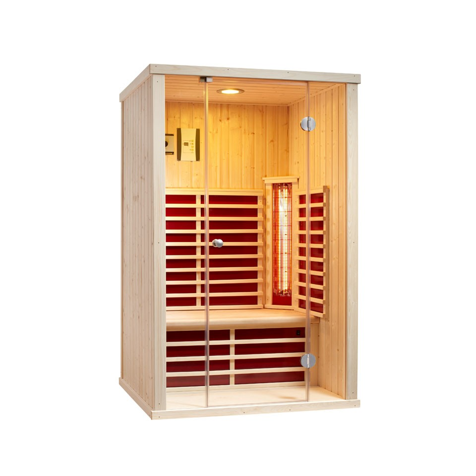 infraworld infrarotkabine vario glas 125 mein. Black Bedroom Furniture Sets. Home Design Ideas