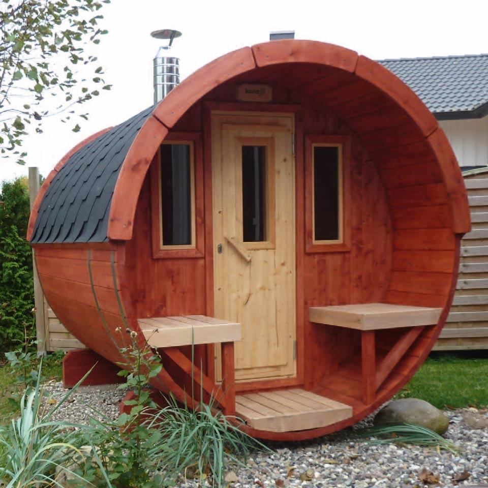 wolff finnhaus saunafass fasssauna 250 wolff finnhaus. Black Bedroom Furniture Sets. Home Design Ideas