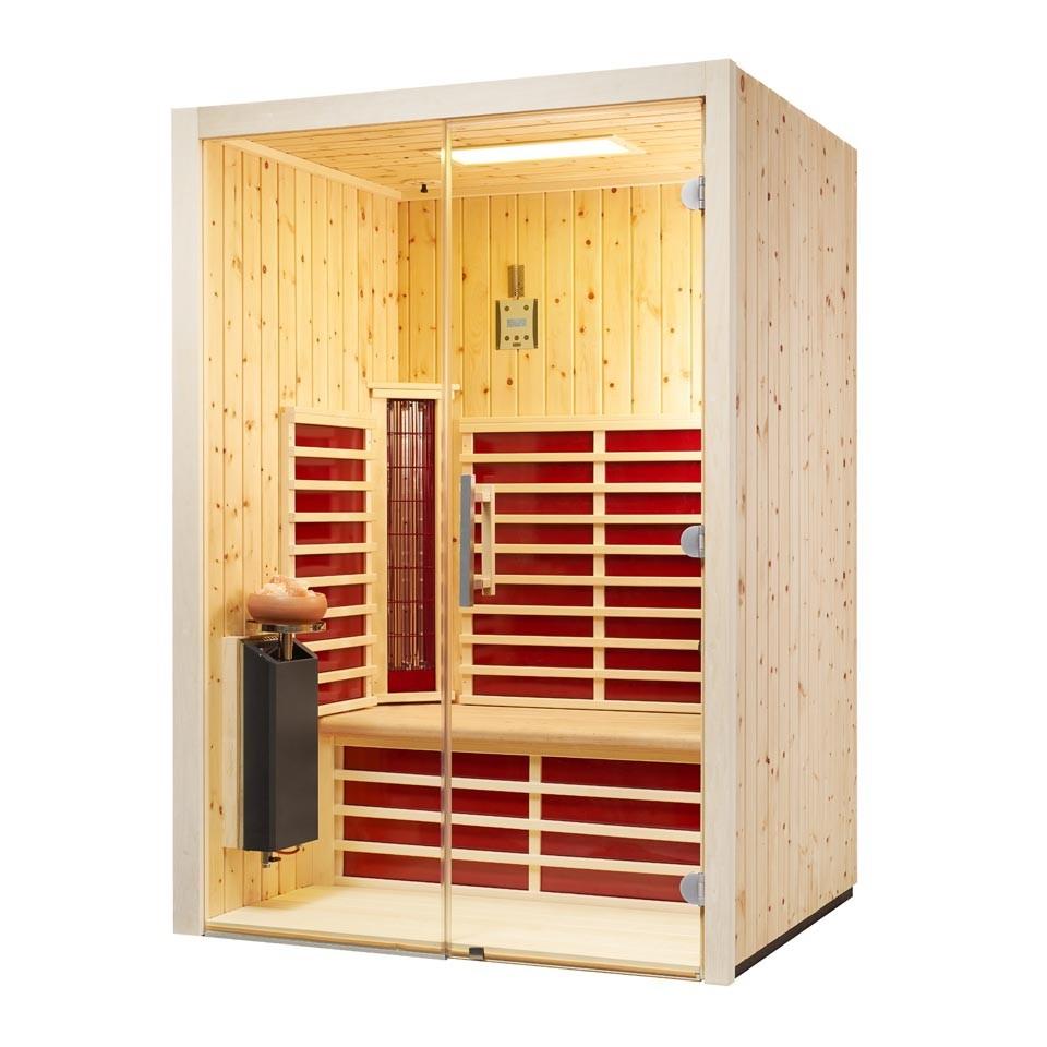 infraworld infrarotkabine triosol glas 145 zirbe mein. Black Bedroom Furniture Sets. Home Design Ideas