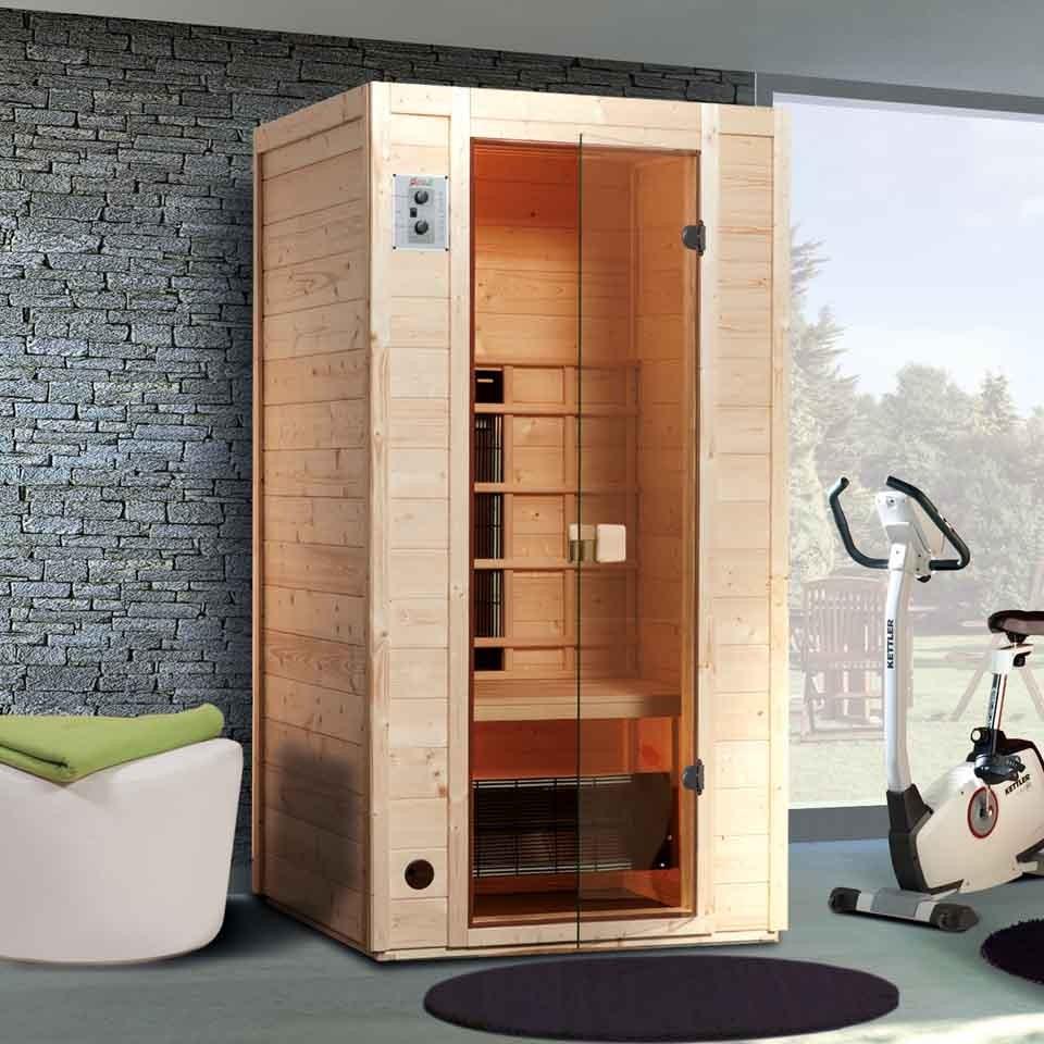 weka infrarot w rmekabine vaala gr 1 inkl linienstrahler mein. Black Bedroom Furniture Sets. Home Design Ideas