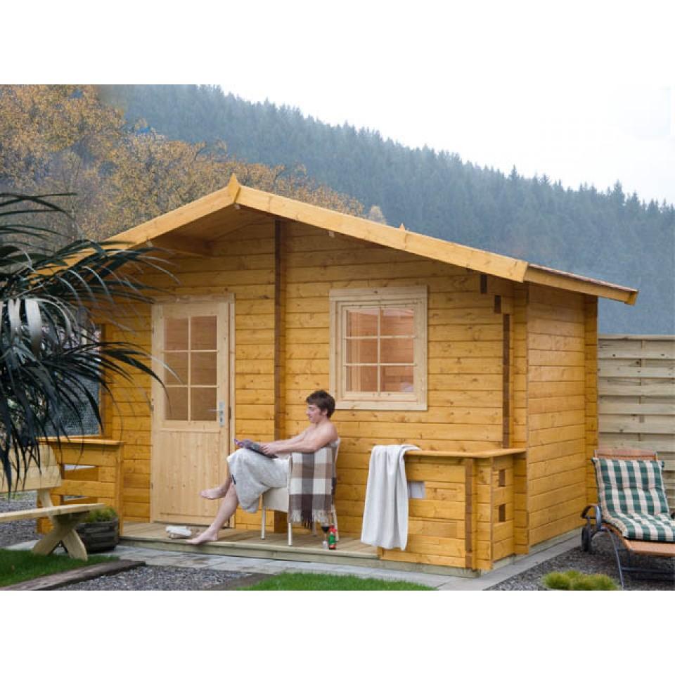 wolff finnhaus saunahaus sanna 70 mein. Black Bedroom Furniture Sets. Home Design Ideas
