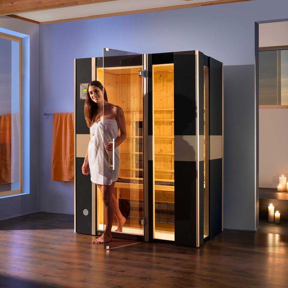 weka infrarot w rmekabine ir kabine 543 graphit mila gr 2 mein. Black Bedroom Furniture Sets. Home Design Ideas