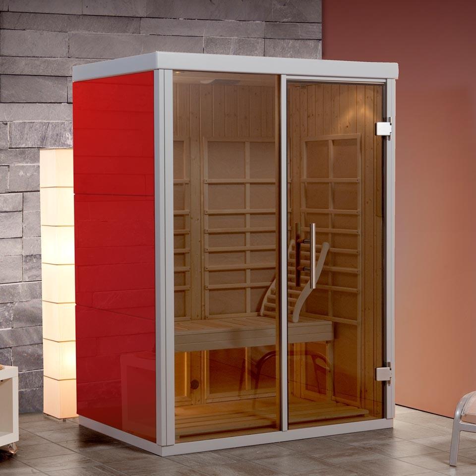 weka wellnissage infrarot kabine aktivit 2 inkl. Black Bedroom Furniture Sets. Home Design Ideas