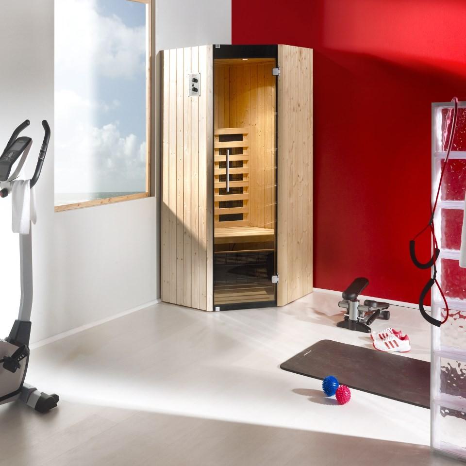 weka infrarot ir kabine 542 eck tanilla eck inkl lendenst tze mein. Black Bedroom Furniture Sets. Home Design Ideas