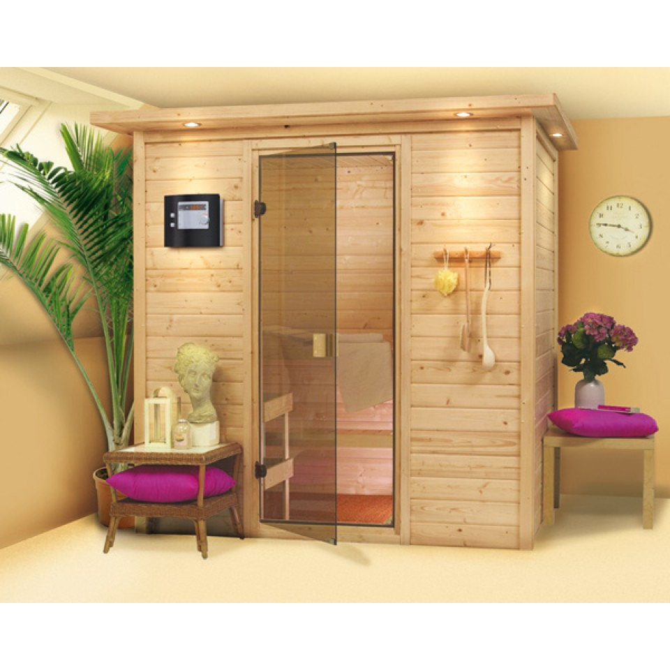 karibu sauna ronja 230 volt mein. Black Bedroom Furniture Sets. Home Design Ideas