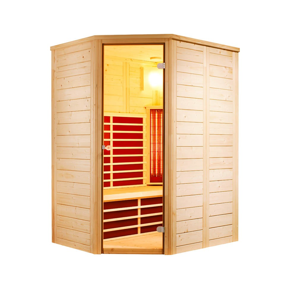 infraworld infrarotkabine vario natura 148 ecke mein. Black Bedroom Furniture Sets. Home Design Ideas