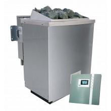 Wolff Finnhaus 9 kW Bio-Kombiofen Saunaofen inkl. Steuergerät