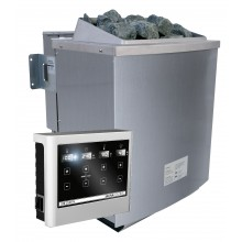 Karibu 9 kW Bio-Kombiofen Saunaofen inkl. Steuergerät EASY - Sparset