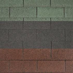 Rechteck-Dachschindeln 3m² Deckfläche