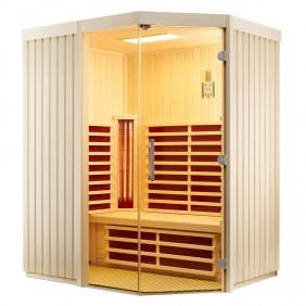 Infraworld Sauna Fortuna - Elementsauna mit Glasfront