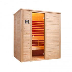 Infraworld Sauna Vitalis 184 FH - 40 mm Multifunktionskabine