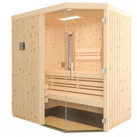 Infraworld Sauna Vitalis 148 FH - 40 mm Multifunktionskabine