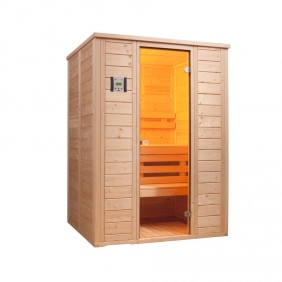 Infraworld Sauna Vitalis 148 - 40 mm Massivholzsauna