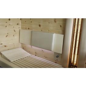 Infraworld Polster für Sauna Rückenlehne (LxBxH = 200 x 460 x 35 mm)