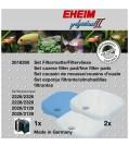 EHEIM EHEIM Aquarium Set 1 x Filtermatte & 2 x Filtervlies für 2026-2128 professionel II & 2226-2328