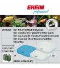 EHEIM EHEIM Aquarium FiltermassenSET für 2222/2322, 2224/2324 und professionel 250 und 250T