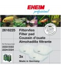 EHEIM EHEIM Aquarium Satz Filtervlies für 2222/2224, 2322/2324 und professionel 250 und 250T 3Stück