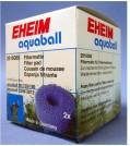 EHEIM EHEIM Aquarien Filtermatte für Filterbox Innenfilter 2208 - 2212, aquaball 60 - 180 2 Stück