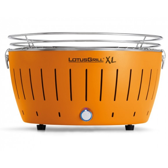 LotusGrill Holzkohlegrill XL-Mandarinenorange