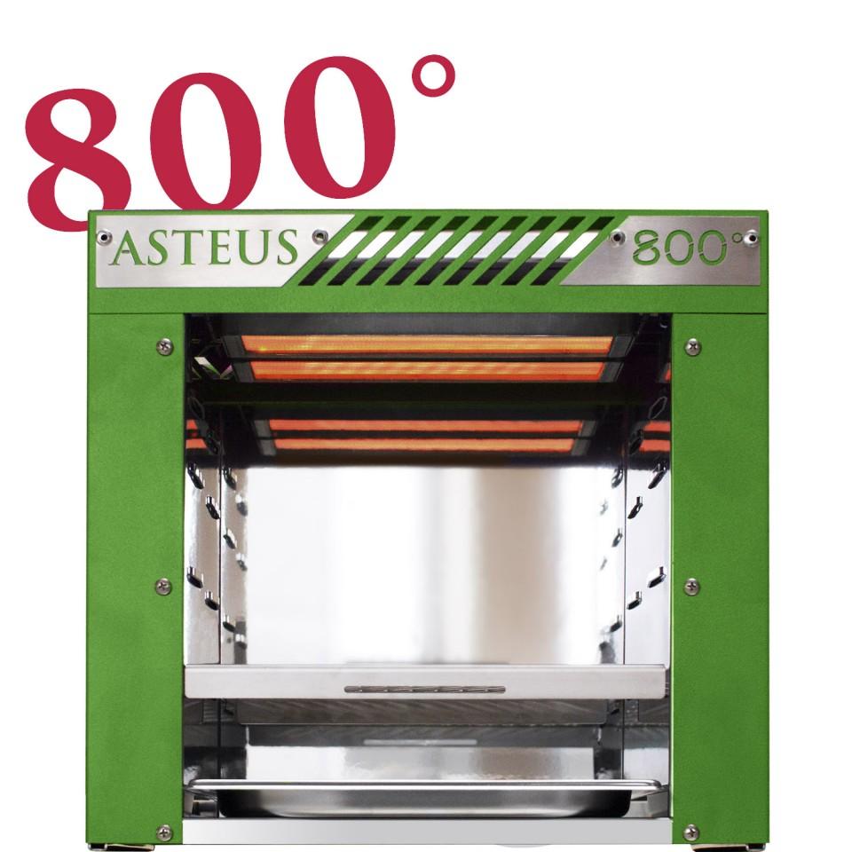 asteus green willy 800 grad infrarot elektro grill. Black Bedroom Furniture Sets. Home Design Ideas