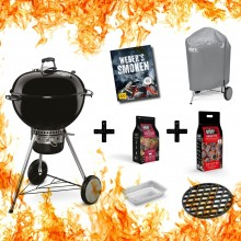 Weber Master-Touch (GBS) Special Edition Pro Schwarz Aktions Set