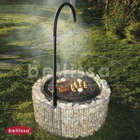 bellissa Feuer- und Grillstelle inkl. Grillgalgen Ambiente