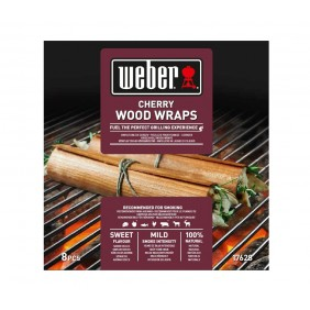 Weber Wood Wraps Kirschholz (8 Stück)