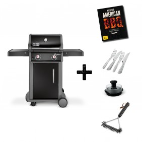 Weber Spirit E-210 Original Gasgrill Schwarz Aktions Set