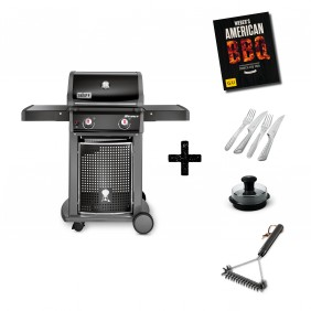 Weber Spirit E-210, Classic Black Aktions-Set