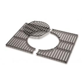 Weber Gourmet BBQ System - Grillrost mit Grillrosteinsatz aus Gusseisen für Spirit 300 - Serie
