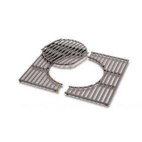 Weber Gourmet BBQ System - Grillrost mit Grillrosteinsatz aus Gusseisen für Spirit 200 - Serie