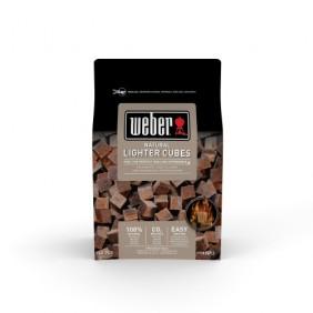 Weber Anzündwürfel braun - ökologisch (48 Stück)