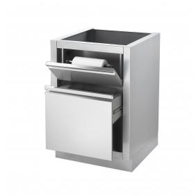 NAPOLEON Küchenrollenhalter/ Mülleimerschrank