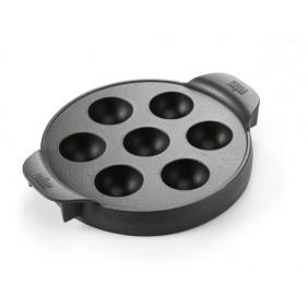 Weber Gourmet BBQ System - Ebelskiver Einsatz ohne Grillrost