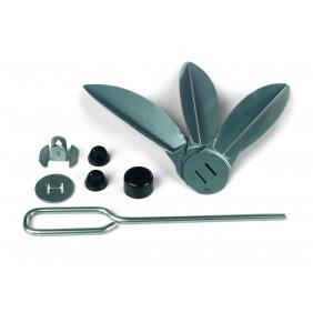 Flügelset OT Edelstahl 57cm für Premium
