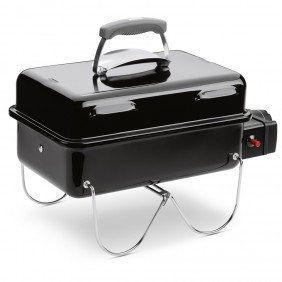 Weber Go-Anywhere Gas, Schwarz/Black