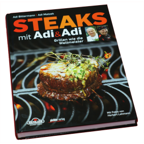 "NAPOLEON Grillbuch ""Steaks mit Adi&Adi"""