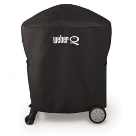 Weber Abdeckhaube Premium für Q 1000- / Q 2000 - Serie inkl. Rollwagen oder Stand
