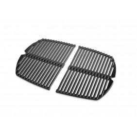 Weber Grillrost-Set Q 240-/2400-Serie, gusseisern emailliert, 2-teilig
