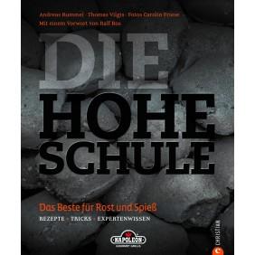 """NAPOLEON Grillbuch """"Die hohe Schule des Grillens"""" von Andreas Rummel"""