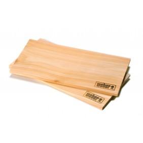 Weber Räucherbretter aus Zedernholz groß (2 Stück)